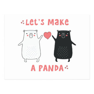 hagamos una panda postal