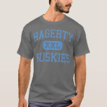 Hagerty - perros esquimales - High School Camiseta