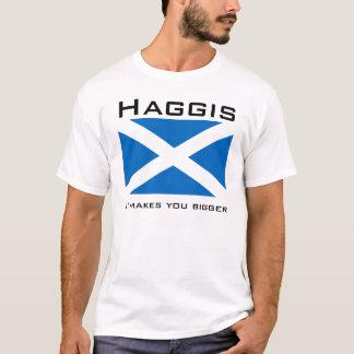 Haggis, le hace más grande camiseta