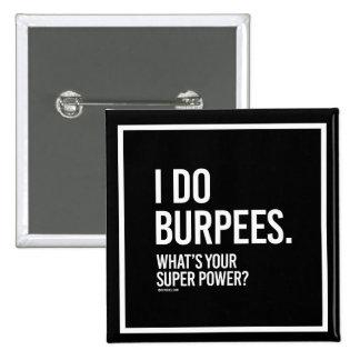 Hago Burpees - cuál es su superpoder -   el chica Chapa Cuadrada