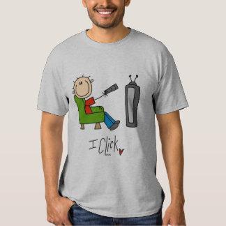 Hago clic las camisetas y los regalos