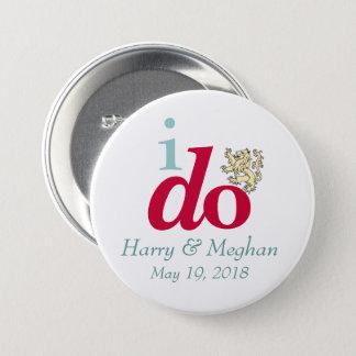 HAGO el botón real de Harry y del boda de Meghan