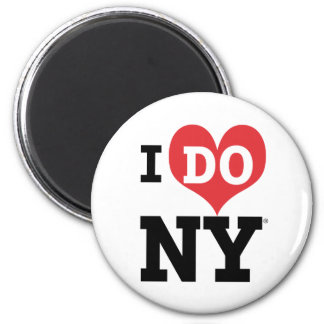 HAGO el corazón de NY Imán Redondo 5 Cm