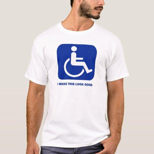 Hago esta mirada buena camiseta
