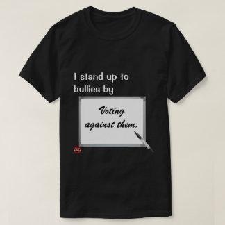 Hago frente a matones camiseta