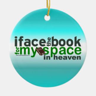 Hago frente al libro para Myspace Ornamento De Navidad