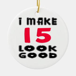 Hago la mirada 15 buena adorno de navidad