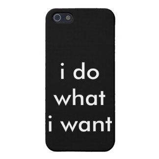 hago lo que quiero iPhone 5 protector