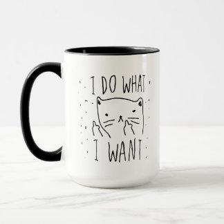Hago lo que quiero la taza fresca