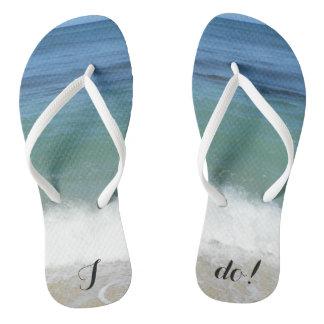 """""""Hago"""" los flips-flopes tropicales de la playa Chanclas"""