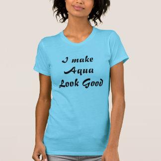 Hago mirada de la aguamarina buena camiseta