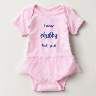 Hago mirada rechoncha buena body para bebé