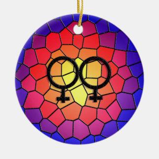 Hago ornamento femenino ornamentos de navidad