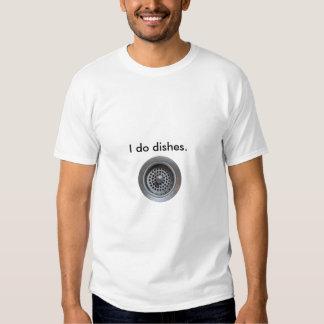 Hago platos camisetas