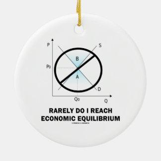 Hago raramente alcanzo el equilibrio económico (la ornamentos de reyes