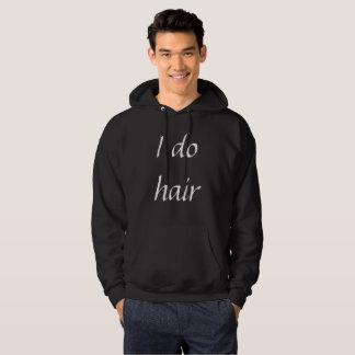 Hago sudadera con capucha del pelo