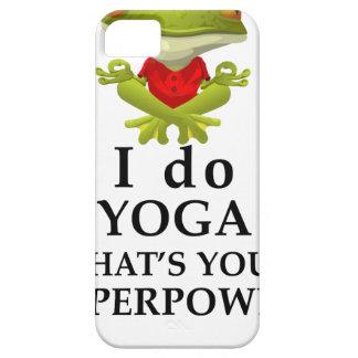hago yoga qué s su superpoder funda para iPhone SE/5/5s