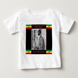 Haile Selassie el león de Judah, Jah Rastafari Camisetas