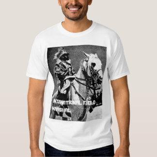 Haile Selassie I - mariscal de campo Camisetas