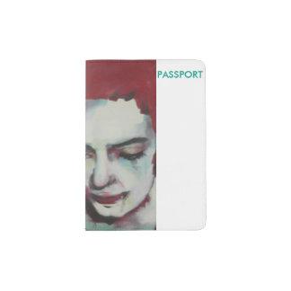 Hair rojo del tenedor del pasaporte ' portapasaportes