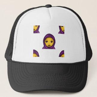 hajib del emoji gorra de camionero
