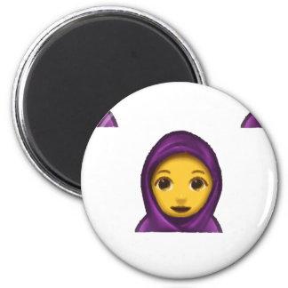 hajib del emoji imanes