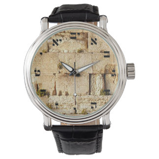 HaKotel - la pared occidental Reloj