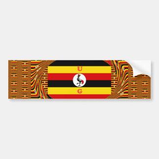 Hakuna asombroso hermoso Matata Uganda precioso Pegatina Para Coche