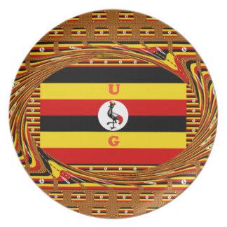 Hakuna asombroso hermoso Matata Uganda precioso Plato