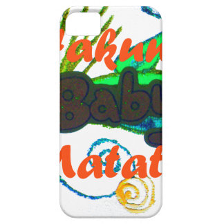 Hakuna Matata Baby.png iPhone 5 Case-Mate Funda