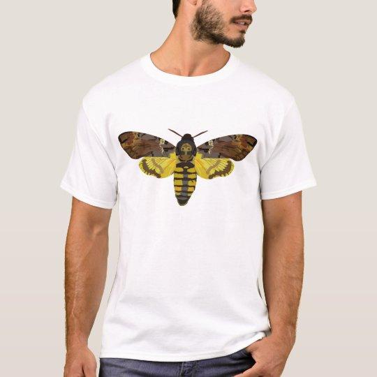halcón-polilla camiseta