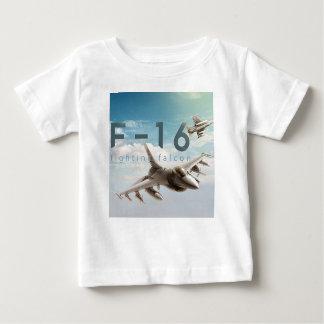 Halcón que lucha F-16 Camiseta De Bebé