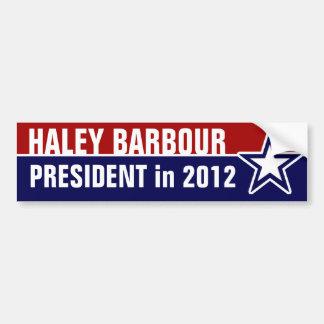 Haley Barbour en 2012 Etiqueta De Parachoque