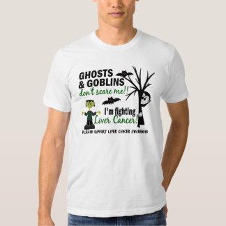 Halloween 1 guerrero del cáncer de hígado camisetas