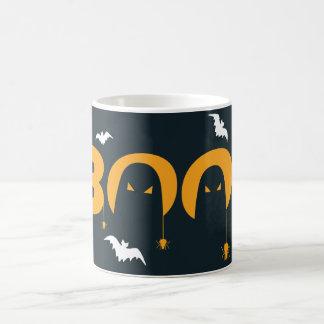 """Halloween """"abucheo"""" con las arañas de los palos taza de café"""