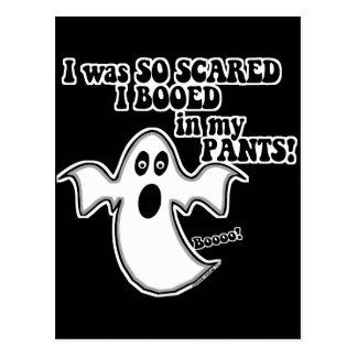 Halloween divertido postal