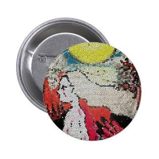 Halloween embroma artes abstractos pins