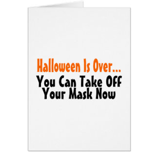 Halloween está sobre usted puede ahora sacar su má tarjeta de felicitación