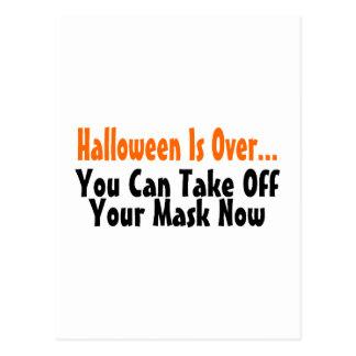 Halloween está sobre usted puede ahora sacar su postal