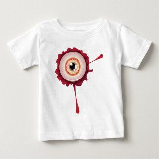 Halloween Eyeball2 sangriento Camiseta De Bebé
