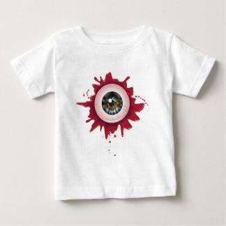 Halloween Eyeball3 sangriento Camiseta De Bebé