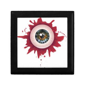 Halloween Eyeball3 sangriento Joyero