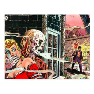 Halloween frecuentó el cómic postal