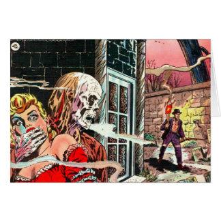 Halloween frecuentó el cómic tarjeta
