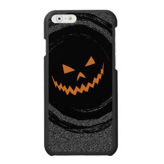 Halloween Jack que brilla intensamente O'Lantern Funda Cartera Para iPhone 6 Watson