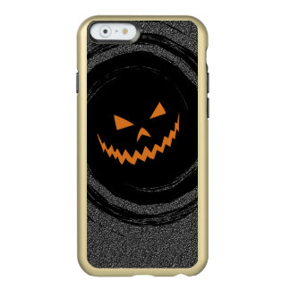 Halloween Jack que brilla intensamente O'Lantern Funda Para iPhone 6 Plus Incipio Feather Shine