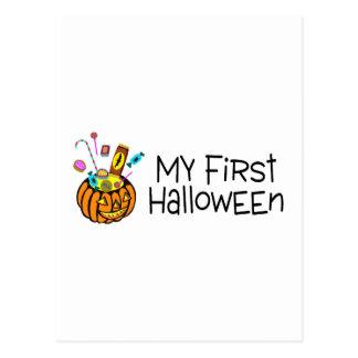 Halloween mi primer Halloween (caramelo de la Postal