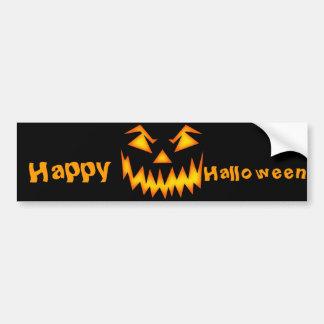 Halloween Etiqueta De Parachoque