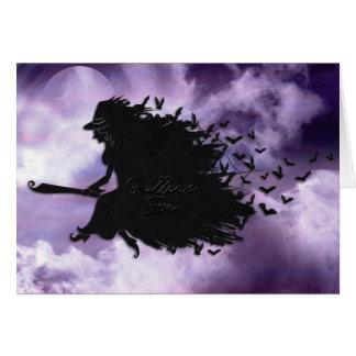 Halloween - santifica la bruja de Eve Tarjeta