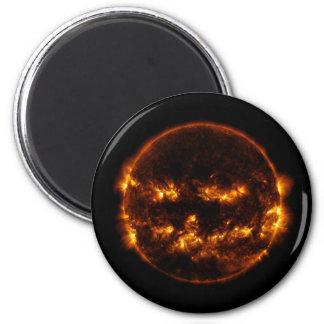 Halloween Sun/Jack-O-Linterna Imán